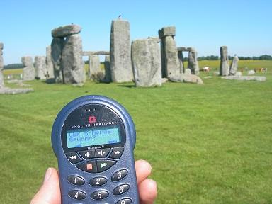 Stonehenge mit dem Audo Guide