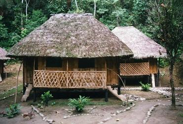 Urwald-Lodge in Ecuador
